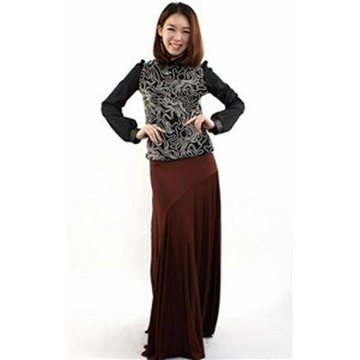Lycra Flare Skirt