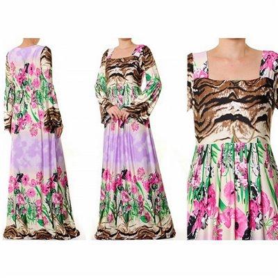 Empire Pleated Waist Maxi Dress