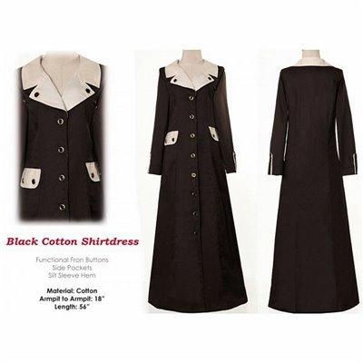 Shirtdress Maxi Dress