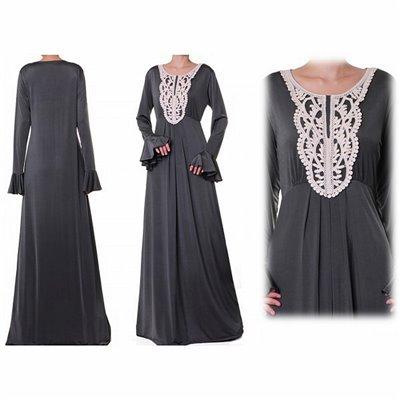 Flutter Sleeves Plus Maxi Dress