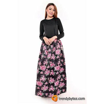 Roses Maxi Skirt