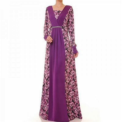 Vneck Diamente Plus Maxi Dress