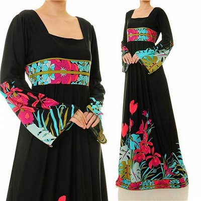 Empire Pleated Waist Plus Maxi Dress