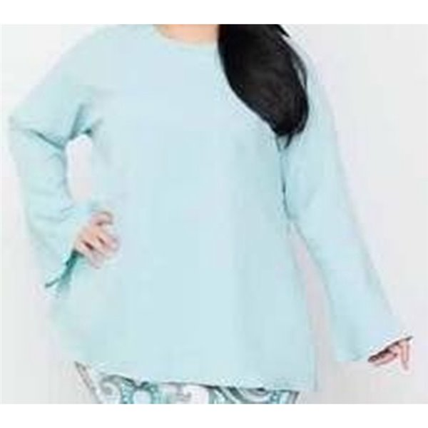 Bottom Bell Sleeve Plus Size Top