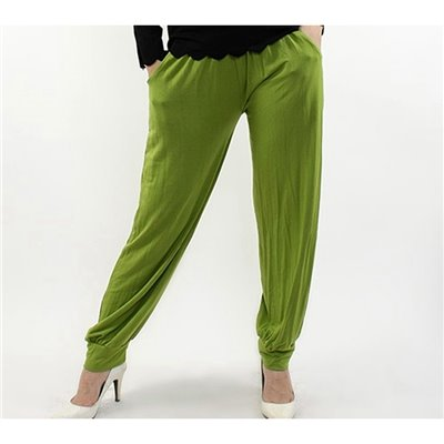 Harem Pants - Lime Green