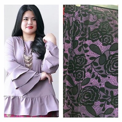 Kurung Set - Purple