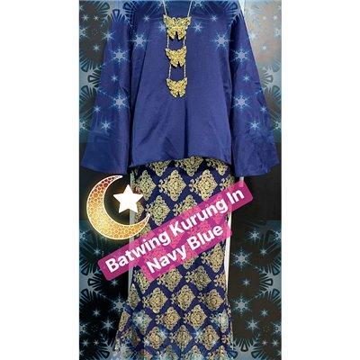 Batwing Batik Kurung Set